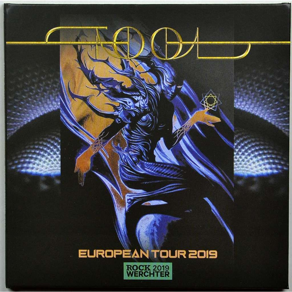 tool TOOL Live at Rock Werchter Festival Belgium 28 June 2019 European Tour 2CD digisleeve