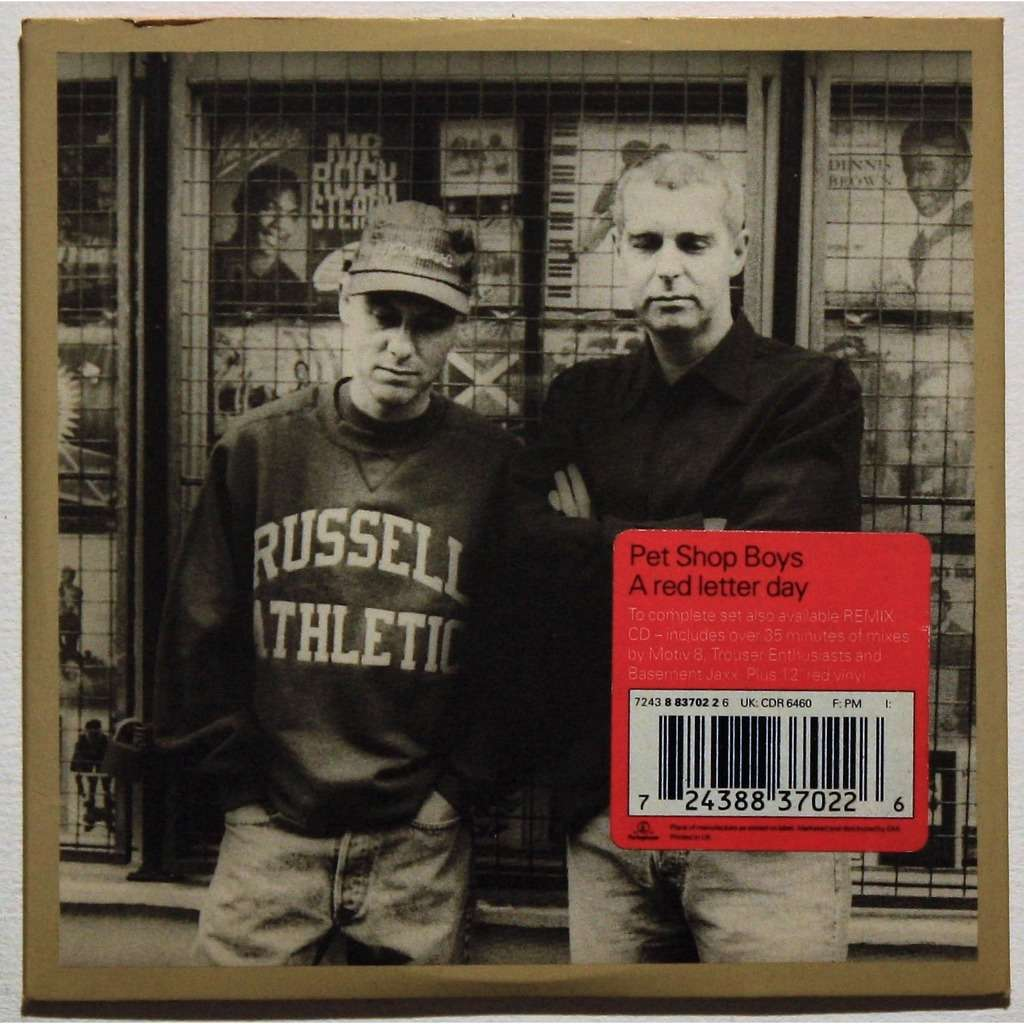 Pet shop boys A red letter day