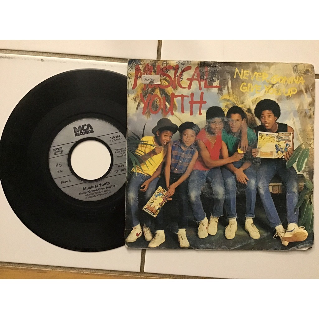musical youth never gonna give you up
