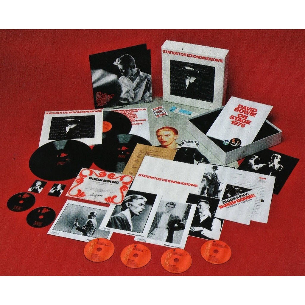 David Bowie Station To Station (UK 2010 Ltd 'Deluxe Edition' 3LP+5CD+DVD & gadgets Box set!!)
