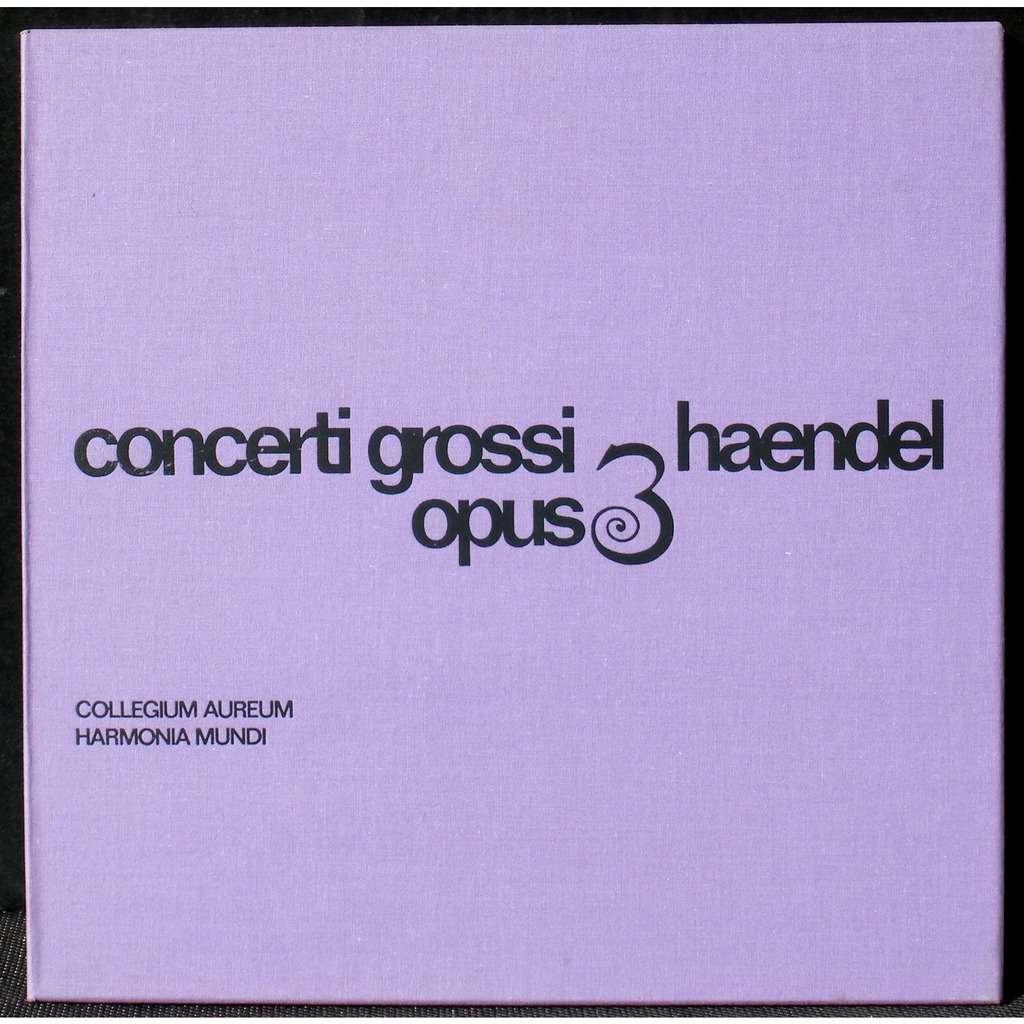 Haendel Collegium aureum Concerti opus 3 1967 Haendel Collegium aureum Concerti opus 3 1967 2 x LP EX (play NM), BX NM