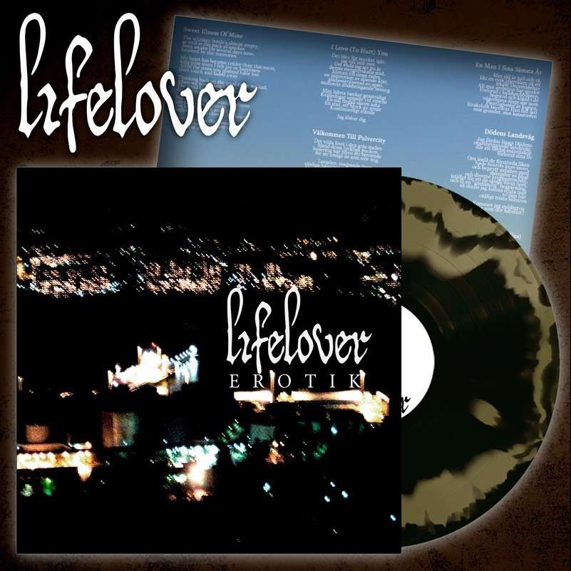 LIFELOVER Erotik. Gold & Black Swirl Vinyl