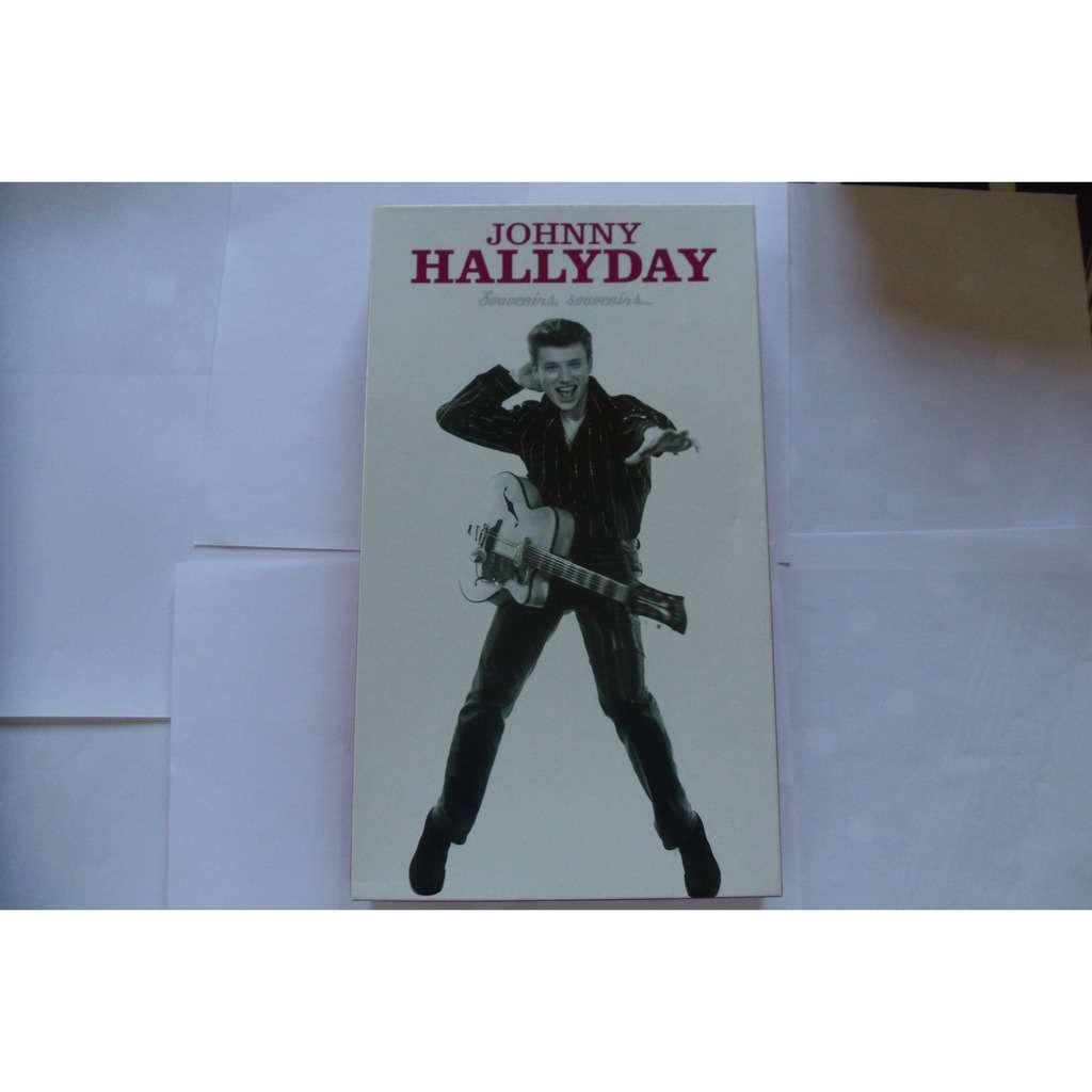 JOHNNY HALLYDAY Souvenirs, souvenirs