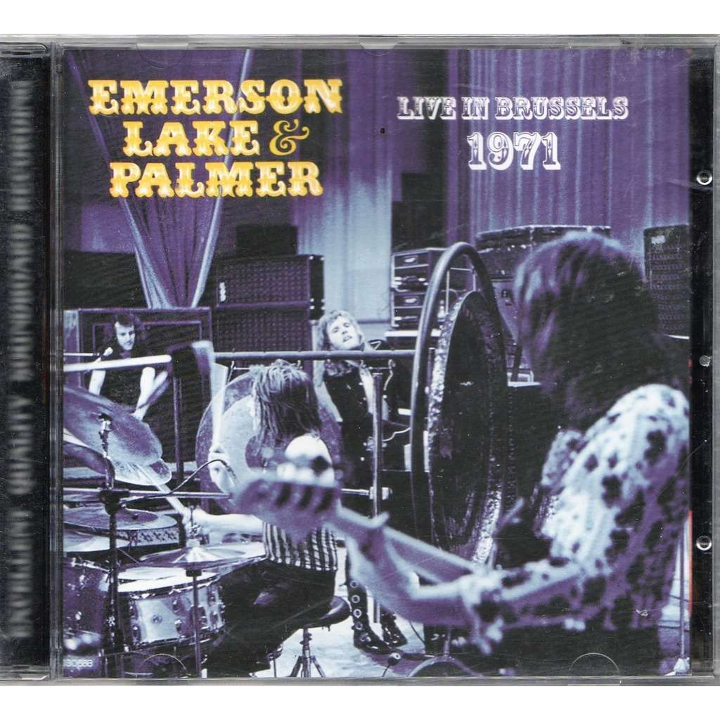 emerson lake & palmer / ELP Live In Brussels 1971 (Theatre 140 06/07.02.1971 etc.)
