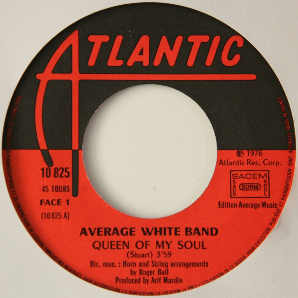 Average White Band Queen Of My Soul +1 (Funk)