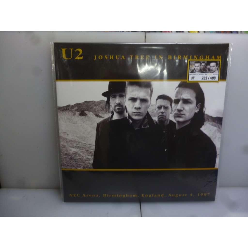 U2//CD Disque et Photo en Platine /Édition limit/ée The Joshua Tree