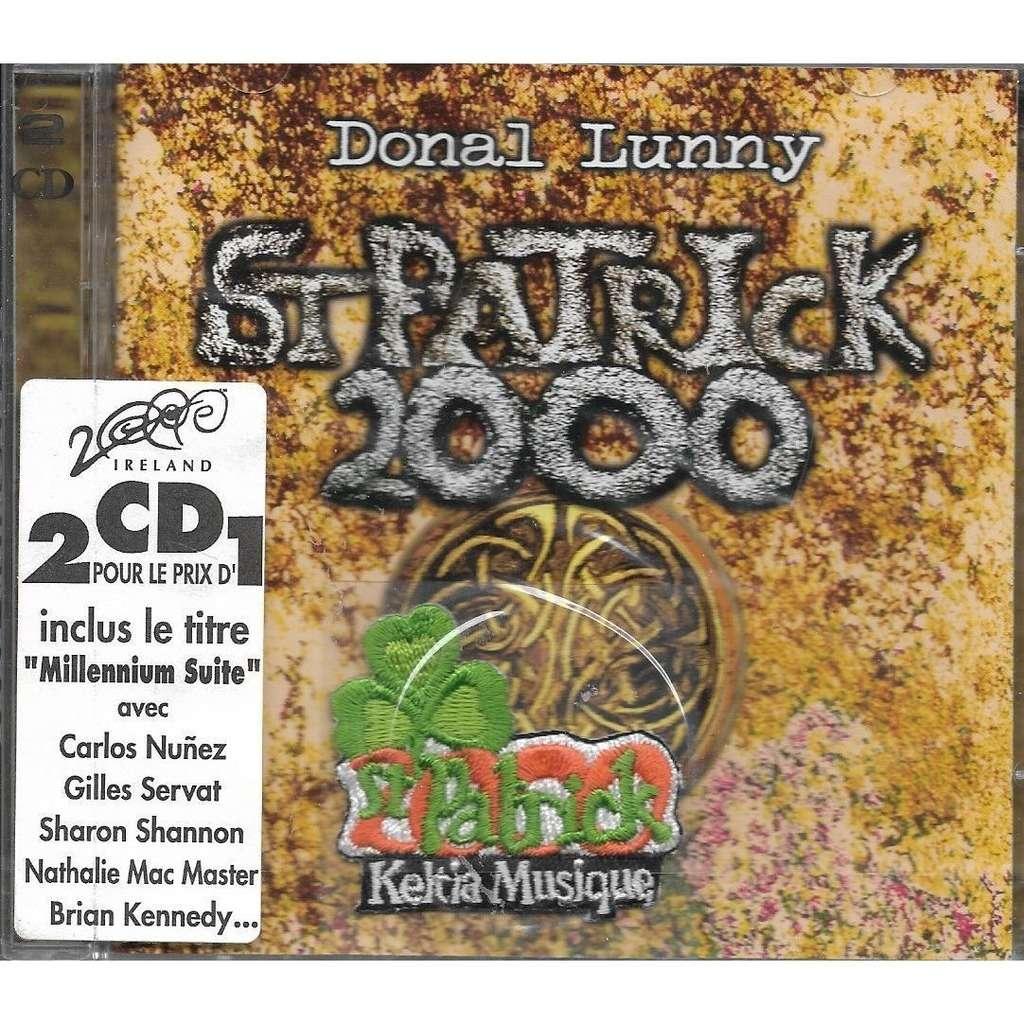 donal lunny St Patrick 2000 (+ écusson brodé bonus)