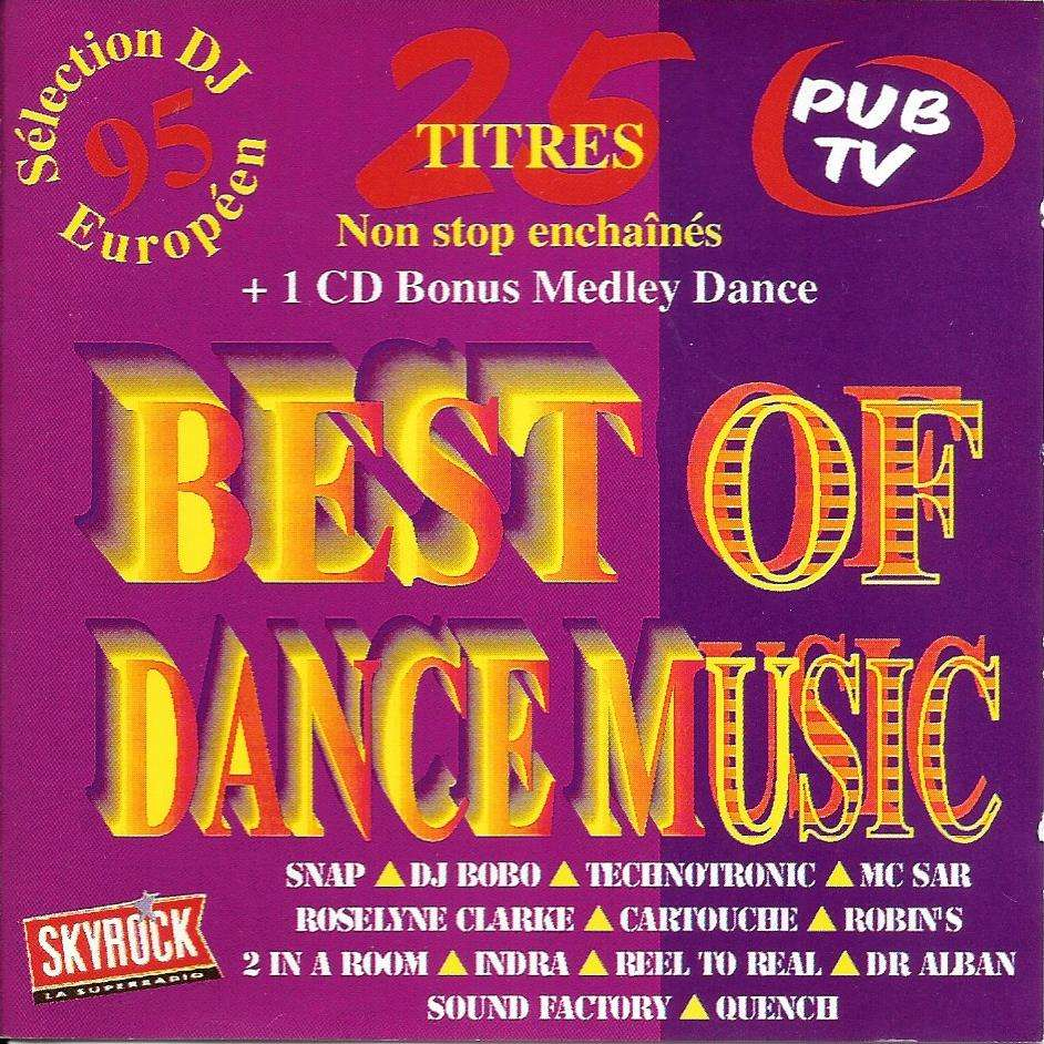 divers artistes - various artists Best of the dance music