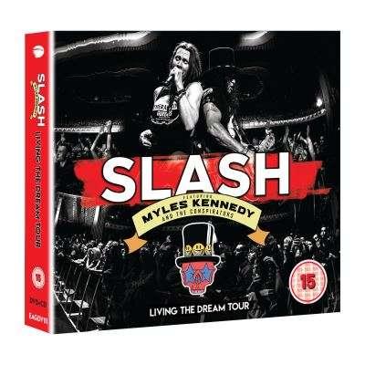 Slash featuring Myles Kennedy and The Conspirators Living The Dream Tour (2xcd+dvd) Ltd Edit Digipack -E.U