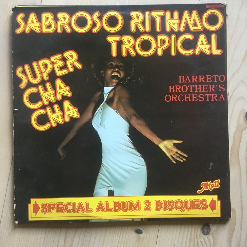 BARRETO BROTHER'S ORCHESTRA sabroso rithmo tropical