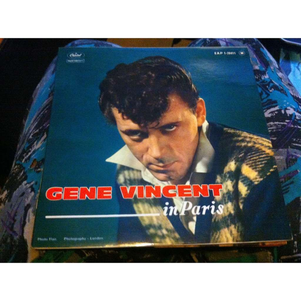 gene vincent In Paris