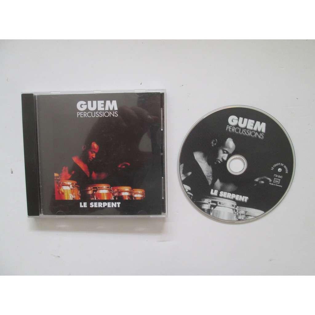 Guem Percussions - Le Serpent