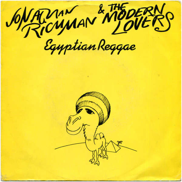 Jonathan RICHMAN & The MODERN LOVERS Egyptian Reggae (original French press - 1977 - Camel yellow cover)