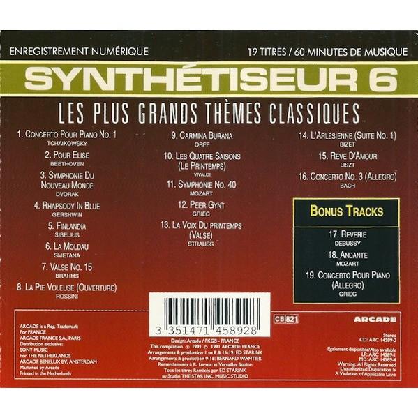 Ed Starink / Synthétiseur 6 - Les Plus Grands Thèmes Classiques