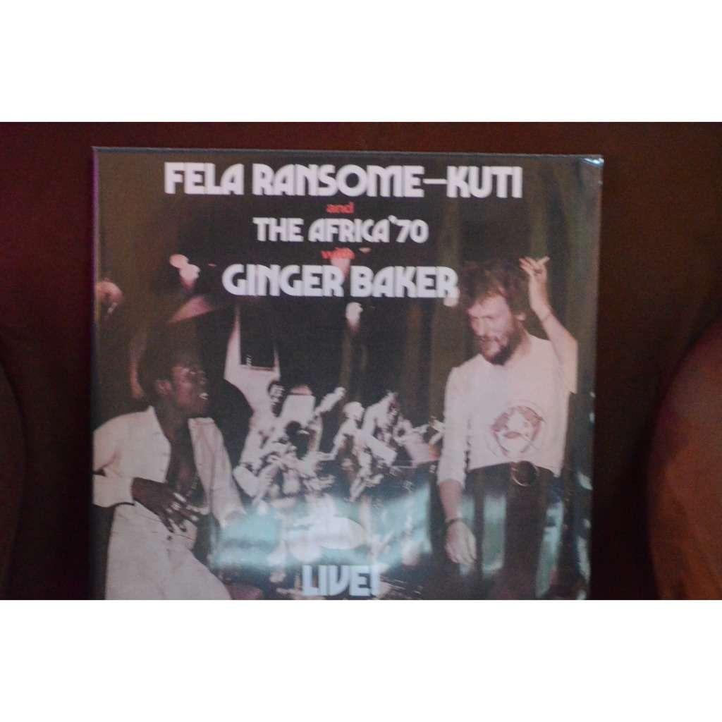 Fela Kuti Fela Kuti Africa 70 Ginger Baker live