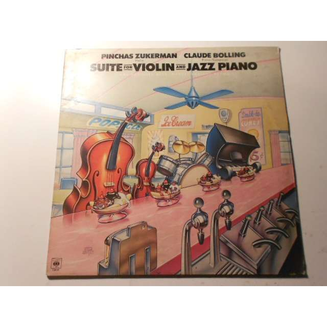 claude bolling pinchas zukerman suite for violin and jazz piano