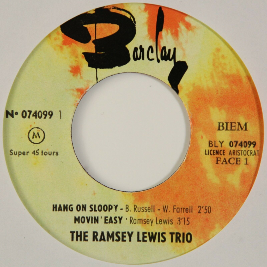 Ramsey Lewis Hang On Sloopy +3 (Jazz/Soul)