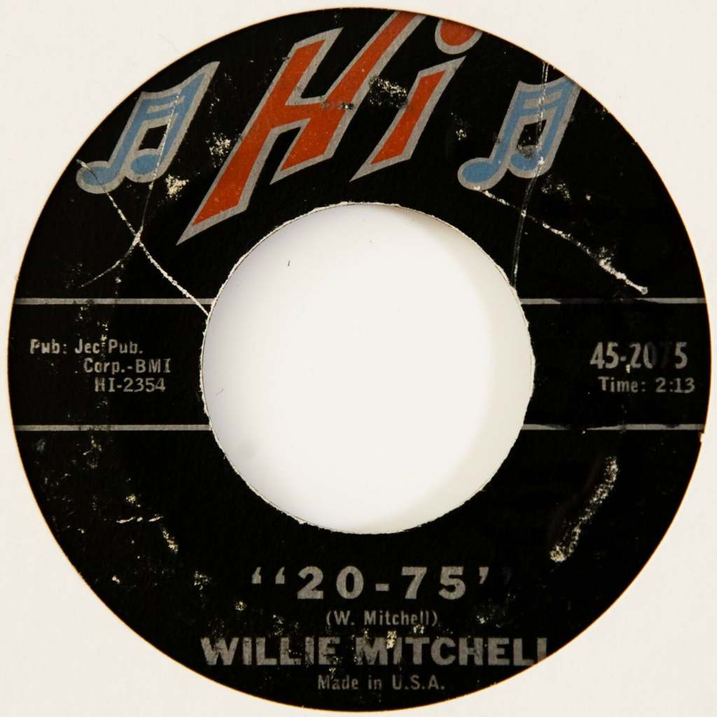 Willie Mitchell 20-75 / Secret Home (Jazz/Soul)