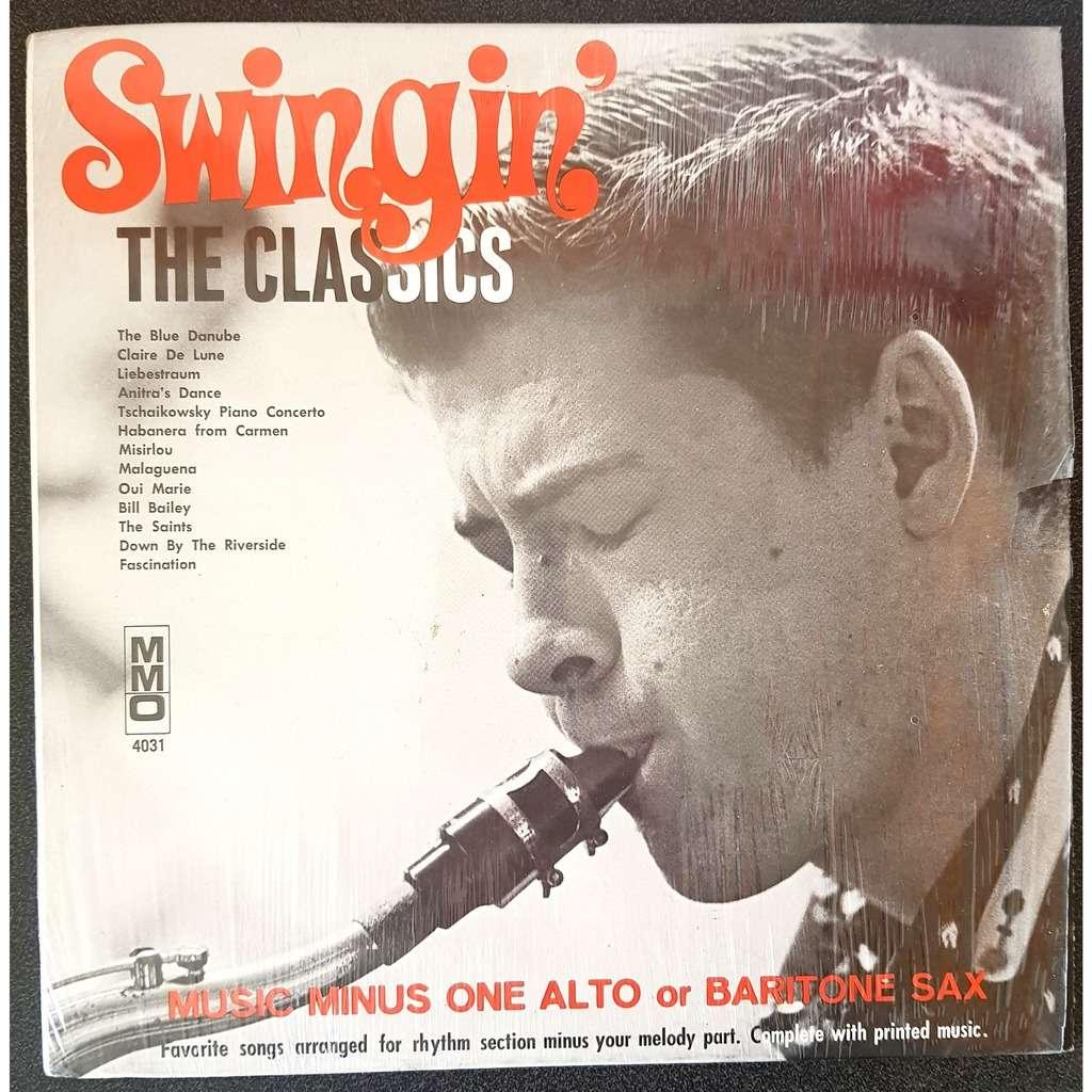 music minus one / alto or baritone sax swingin the classics