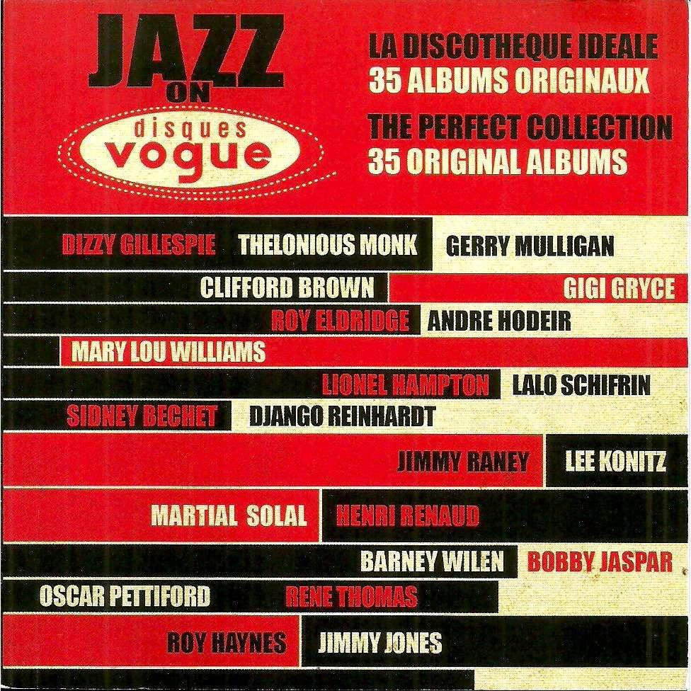 Jazz on disques Vogue la discothèque idéale - 35 albums originaux