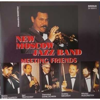 New Moscow Jazz Band Meeting Friends
