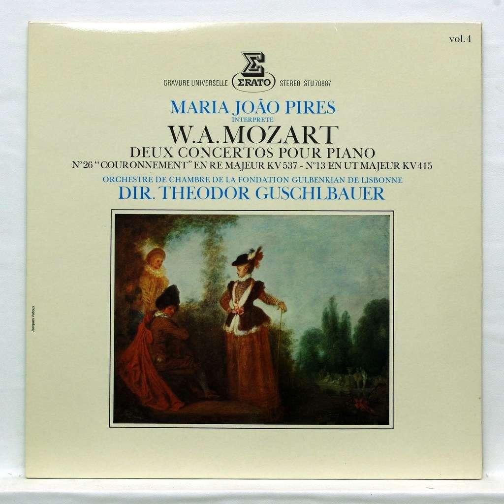 Maria-Joao Pires Mozart : Piano concerto no.26 K.537/ Piano concerto no.13 K.415