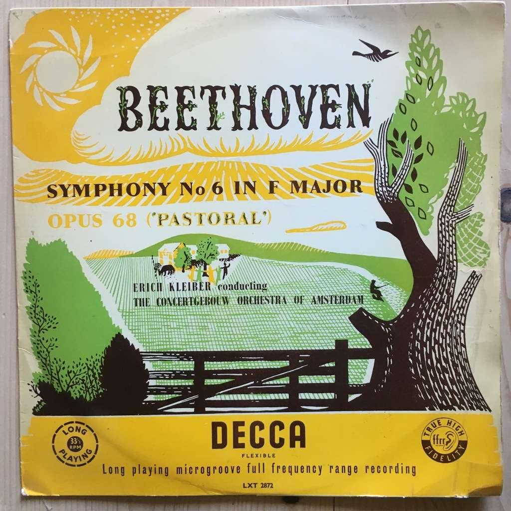 erich kleiber beethoven symphony 6 in f major pastoral
