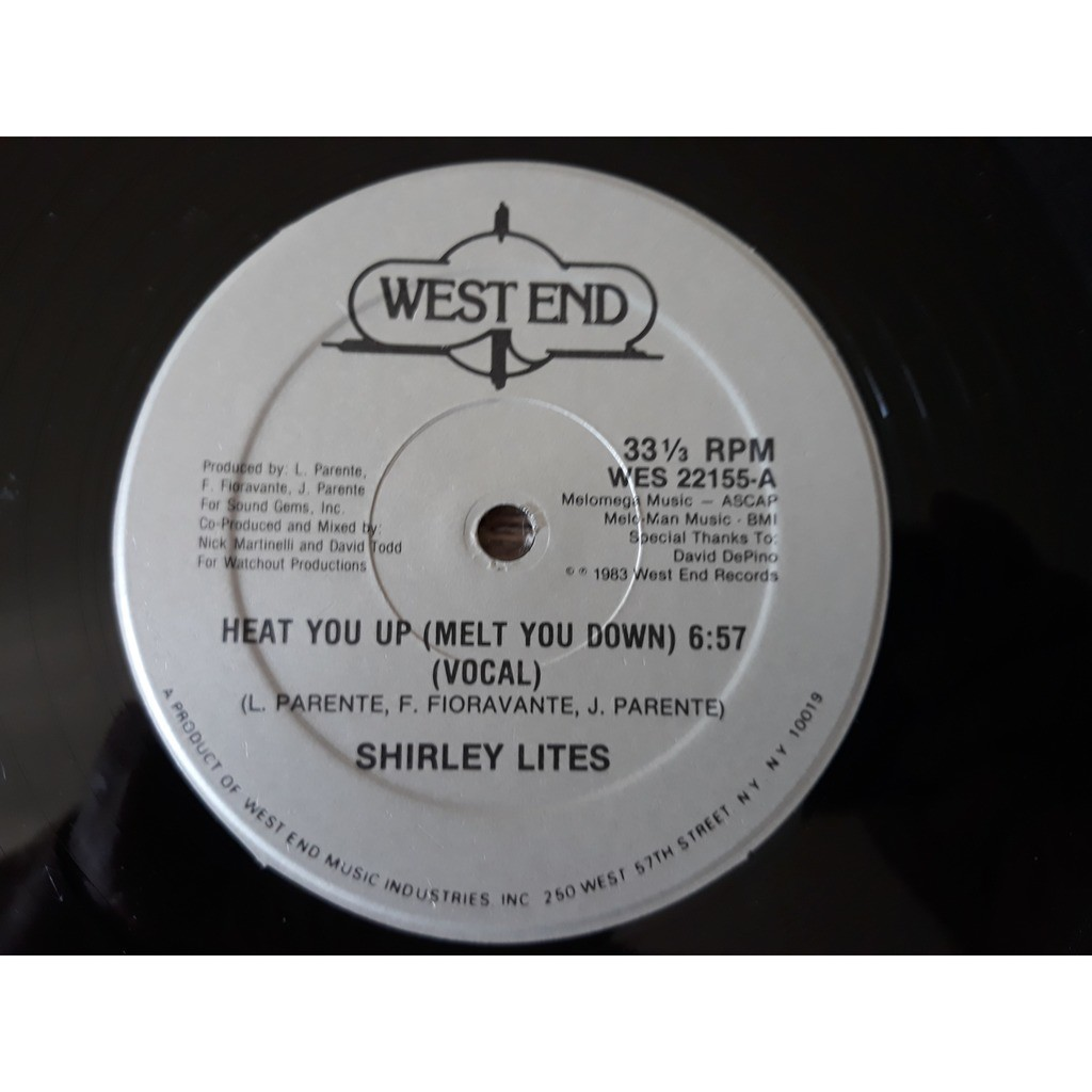 Shirley Lites - Heat You Up (Melt You Down) (12) Shirley Lites - Heat You Up (Melt You Down) (12)1983