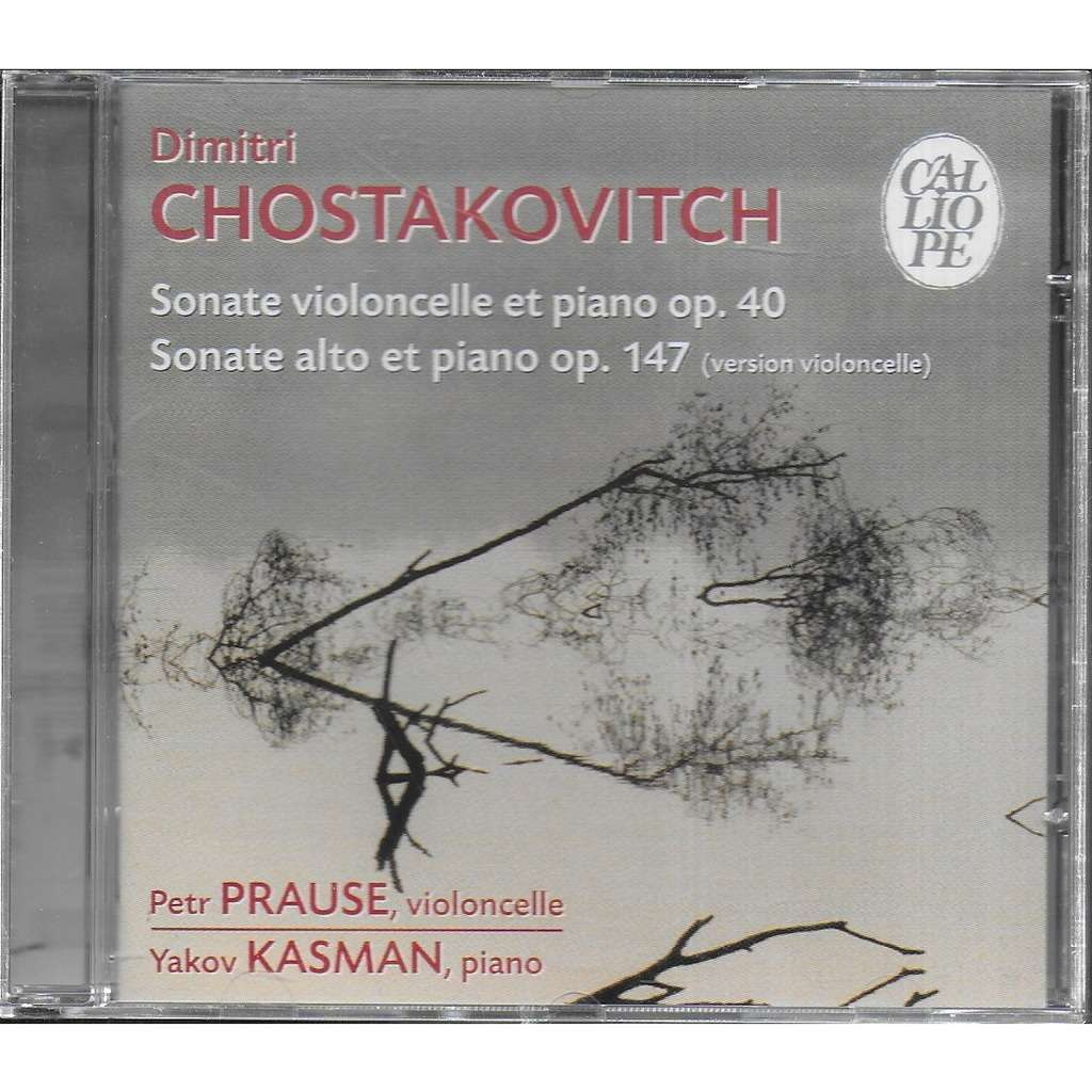 Peter PRAUSE violoncelle Chostakovitch Sonate pour Violoncelle & Piano op 40