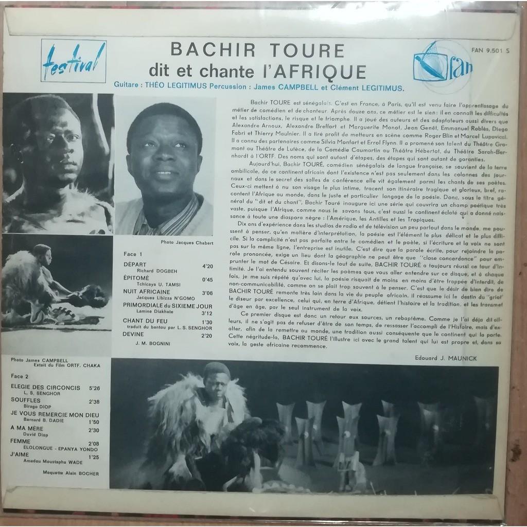 bachir toure dit et chante l'afrique