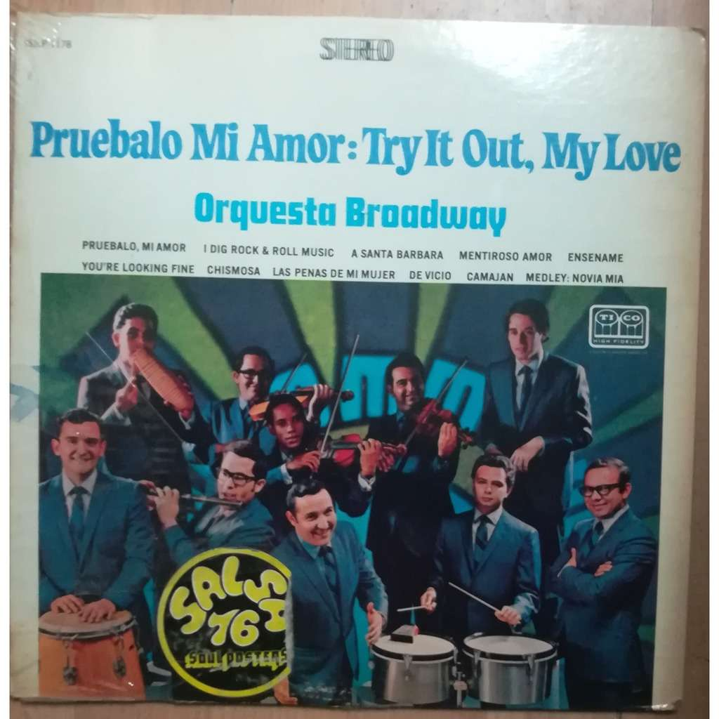 orquesta broadway pruebalo mi amor : try it out my love (original US)