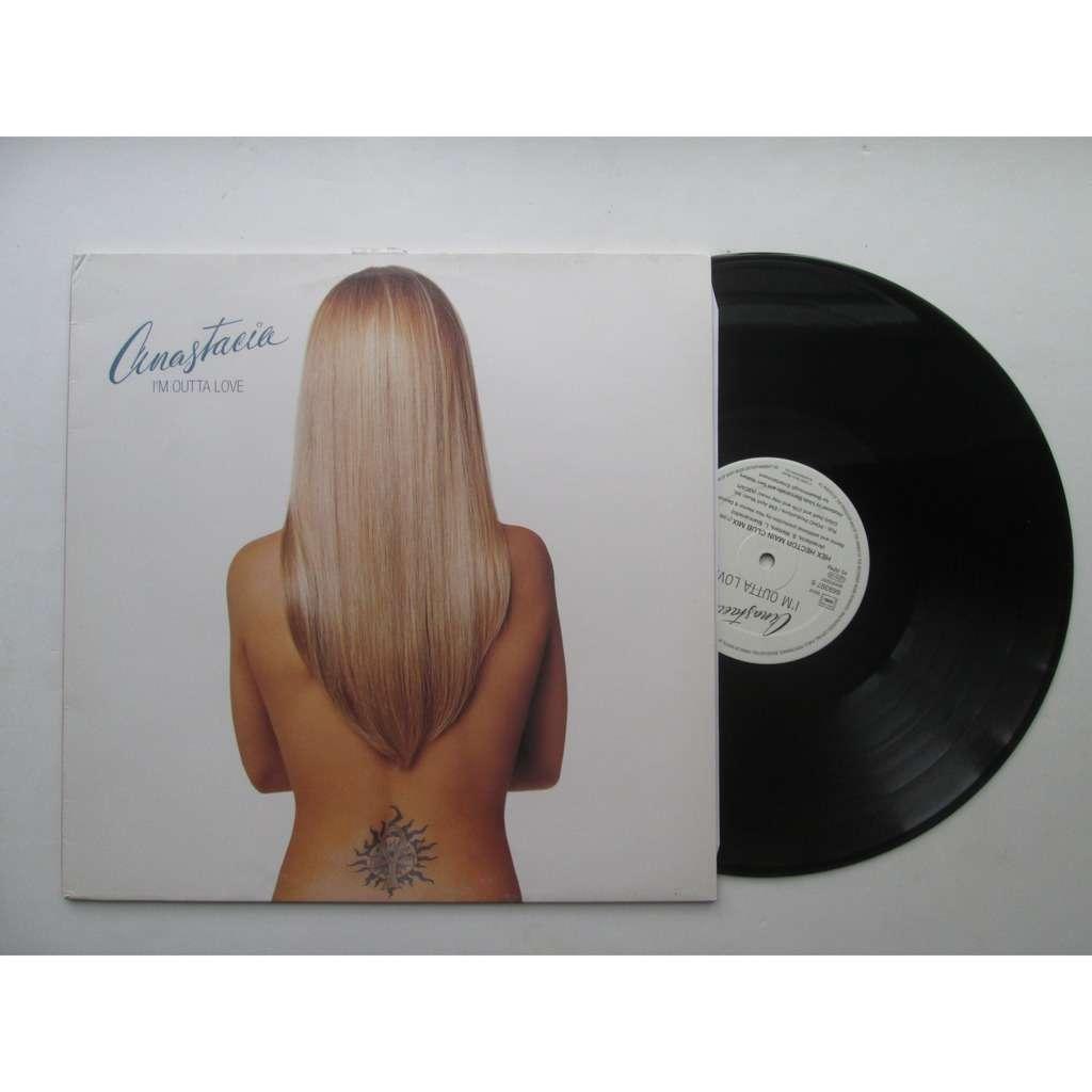 Anastacia I'm outta love ( maxi vinyl)