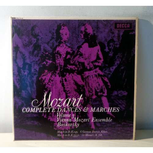 WILLI BOSKOVSKY & VIENNA MOZART ENSEMBLE MOZART Complete dances & marches vol.3