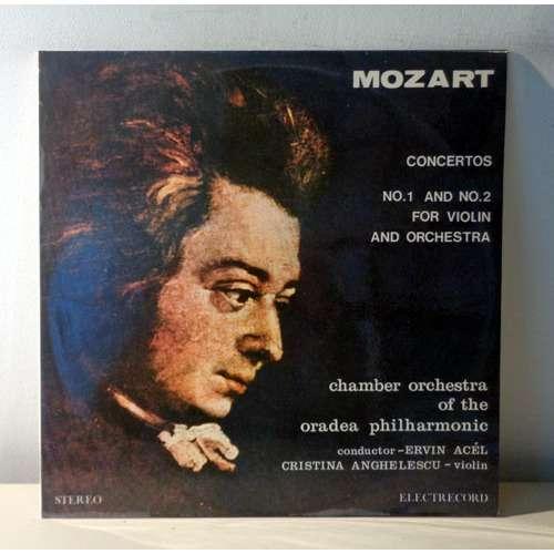 CRISTINA ANGHELESCU & ERVIN ACEL MOZART Violin concertos n°1 & 2