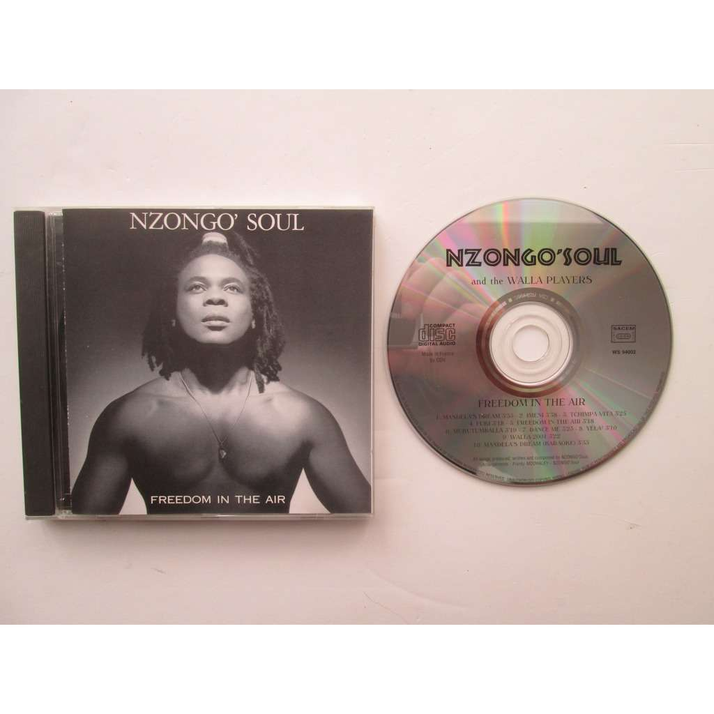 NZONGO SOUL FREEDOM IN THE AIR