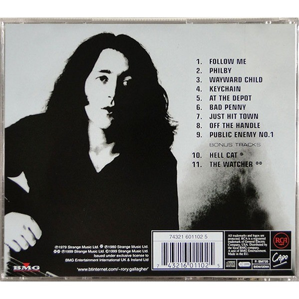 Rory Gallagher Top Priority (incl. 2 bonuses)