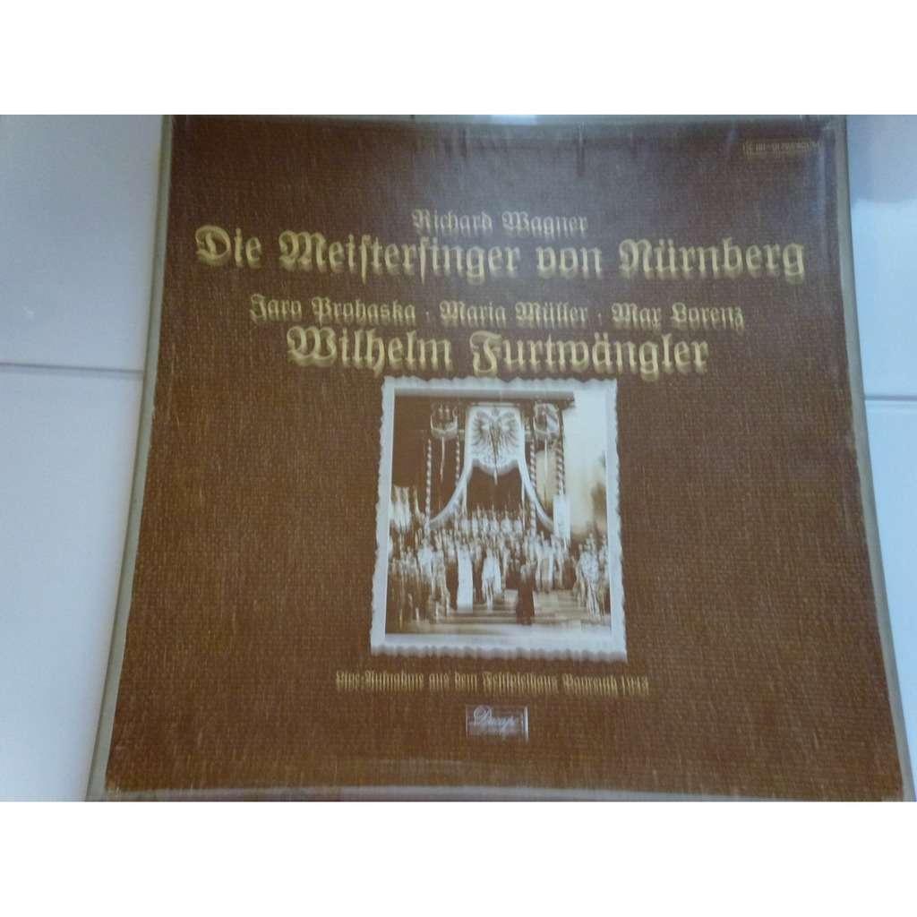 wilhelm furtwangler - prohaska - müller - lorenz Wagner : Die Meistersinger von Nurnberg - ( 5 lp set box mono mint condition )