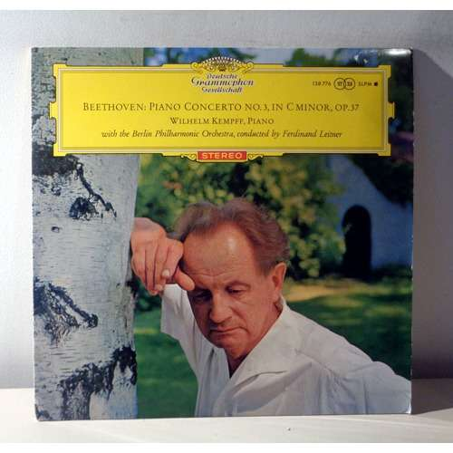 WILHELM KEMPFF & FERDINAND LEITNER BEETHOVEN Piano concertos n°3