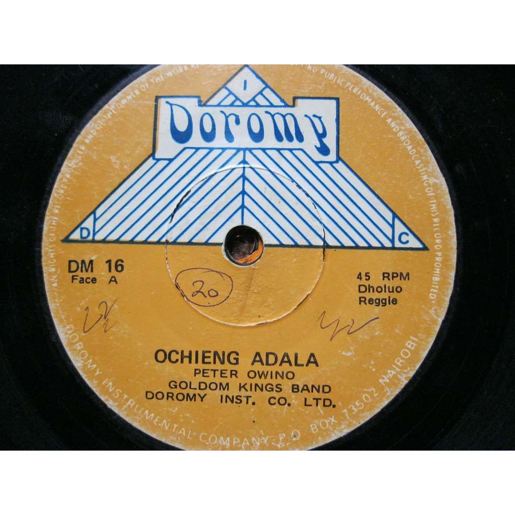 GOLDEN KINGS BAND OCHIENG ADALA / FARANGA
