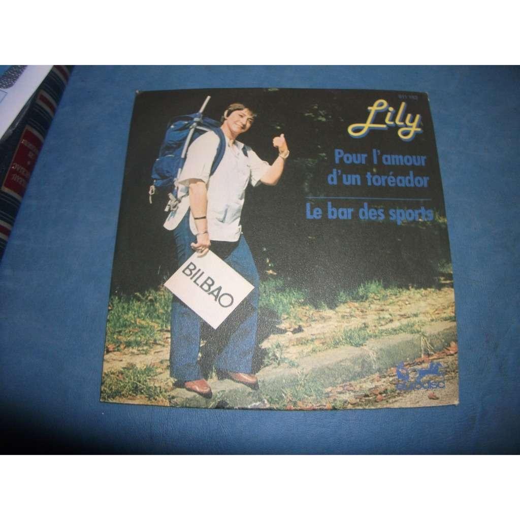 lily pour l'amour d'un toréador