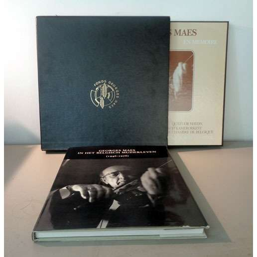 GEORGES MAES & QUATUOR HAYDN En memoire ( QUATUOR HAYDN / ORCHESTRE DE CHAMBRE DE BELGIQUE / CONCERTISTE )