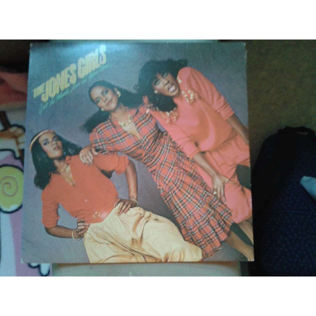 The Jones Girls - Get As Much Love As You Can (LP, The Jones Girls - Get As Much Love As You Can (LP, Album) 1981