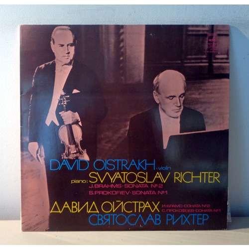 DAVID OISTRAKH & SVIATOSLAV RICHTER BRAHMS & PROKOFIEV Violin sonatas