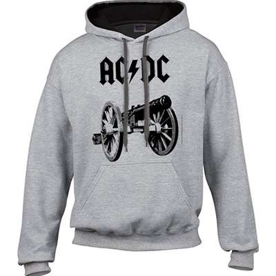 AC/DC For Those About To Rock [GRAY] - HOODIE