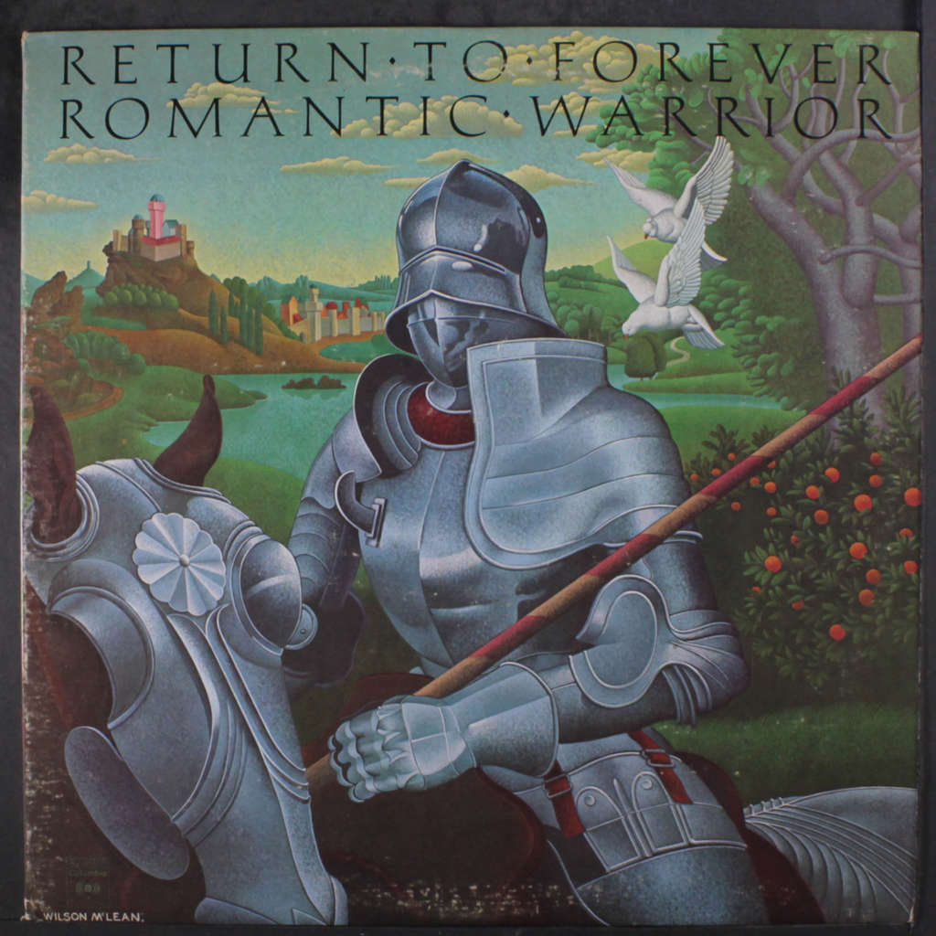 CHICK COREA & RETURN TO FOREVER ROMANTIC WARRIOR.Holland