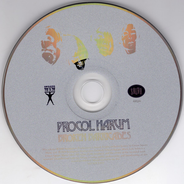 Procol Harum Broken Barricades (incl. 4 bonuses)