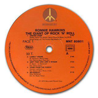 Ronnie Hawkins The Giant Of Rock 'N' Roll