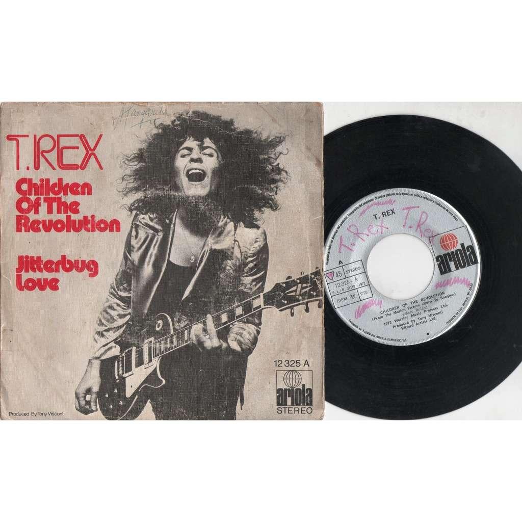 T.Rex Children Of The Revolution (Spanish 1972 original 2-trk 7single full ps)