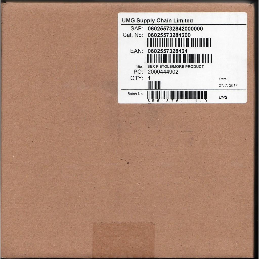 Sex Pistols More Product (Euro 2017 Ltd 3CD Box set unique package ps)