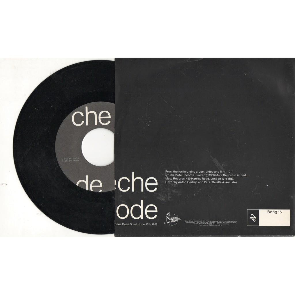 Depeche Mode Everything Counts (live) (Spanish 1989 original 2-trk promo 7single full ps)